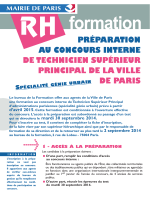Préparation concours TSP Génie Urbain 2015 PDF