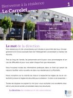 Le Carrelet 1 - (CROUS) de Poitiers