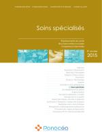 Soins spécialisés - Panacéa Conseil, Formations Santé et Urgences