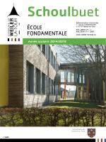 ÉcoLe FondAmenTALe - Weiler-la-Tour