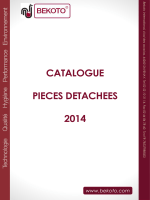 catalogue de pieces detachees bekoto