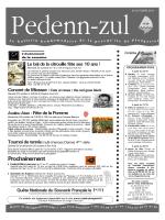Téléchargez le Pedenn Zul du 26 octobre 2014 - Plougastel