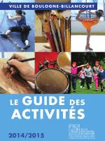 Guide des Activités 2014-2015 - Boulogne