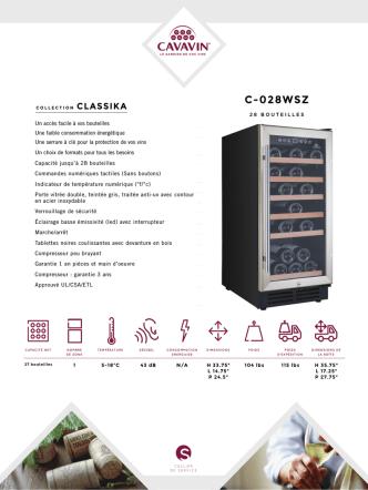 C-028WSZ - Cavavin