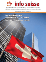 info suisse - Swiss Canadian Chamber of Commerce