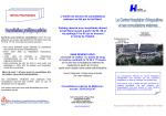 consultations externes publiques ou privées du Centre Hospitalier d