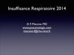 Insuffisance Respiratoire 2014 Simple - ifsi du chu de nice 2012-2015