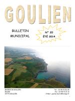 BULLETIN MUNICIPAL - Goulien