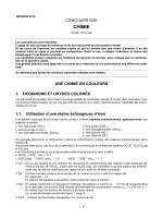 CHIMIE - Concours G2E