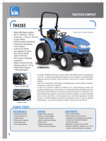 Tracteurs compact TH4365, TG5330, TG5395, TG5475