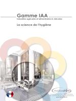 Gamme IAA - Hydrachim