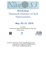 Workshop Nanotech-Nanotox of Soft Nanosystems
