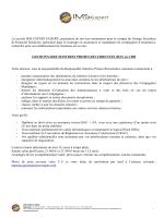 La société IMS EXPERT EUROPE, prestataire de services