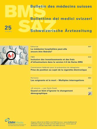 Bulletin des médecins suisses Bollettino dei medici svizzeri