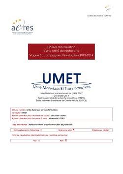 Document pdf - UMET - Université Lille 1