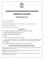FEDERATION ROYALE MAROCAINE DE NATATION