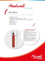 Chauffe-eau 300L gainable