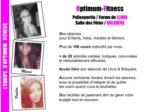 brochure fitness et danse 2014 2015