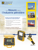 La Mesure dans l`Industrie pétrolière