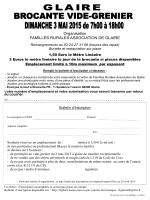 Organisation FAMILLES RURALES ASSOCIATION DE GLAIRE