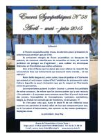 Revue n° 58 - Encres Vives