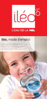 iléo, l`eau de la MEL Mode d`emploi (pdf 10,2 Mo)