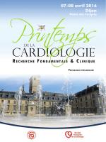 Consulter le programme - Société Française de Cardiologie