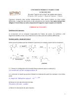 Examen, session 1 du 16/01/2013, réponses