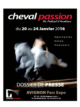 cheval passion 2016 solidaire