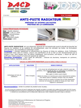 anti-fuite radiateur.pub