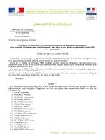Arrêté du 14 décembre 2015 - Bulletin Officiel