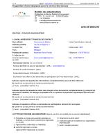 Acquisition d`une balayeuse pour le service des travaux Bulletin des