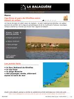 Maroc Cap Draa et parc de Khnifiss entre désert et