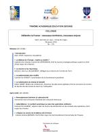 Défendre la France : nouveaux territoires, nouveaux enjeux