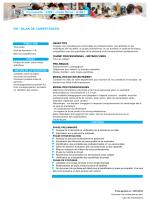 Formacode : 33091 - Code Rome : K1801 RH : BILAN DE