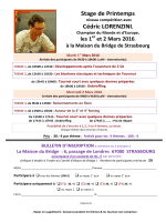 Stage Lorenzini _3_ Mars 2016