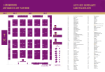 le plan du salon - Antiques & Art Fair