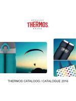 THERMOS CATALOOG / CATALOGUE 2016