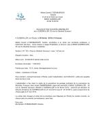 MAIRIE DE ––––– - conseil interrégional des notaires de colmar et