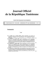 Télécharger la version française de ce JORT en format PDF