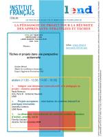 Lire le programme - Institut français Italia