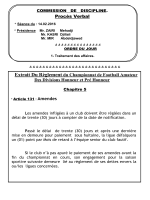 Bulletin Officiel n°19 du 17/02/2016