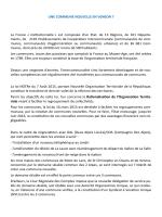 Projet de commune nouvelle - Mairie de Saint Christophe en Oisans
