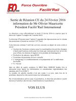 Tract FO Facilit`Rail Gare du Nord du 24 février 2016
