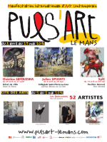 Affiche Puls`Art 2016