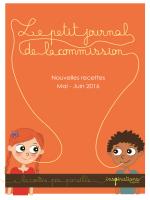 Le petit journal de la commission - Nouvelles - Mairie d`Athis-Mons