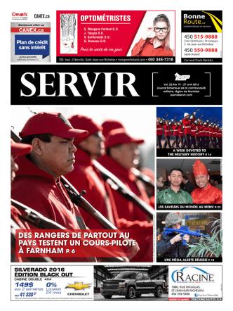 27 avril 2016 - Journal Servir