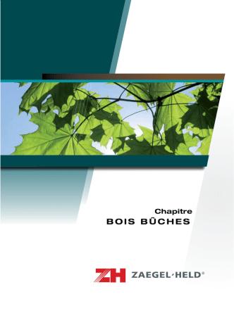 bois bûches - Zaegel Held