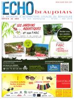 les 3, 4 et 5 juin - OUEST LYON et ECHO BEAUJOLAIS