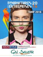 TARIF 2016 - Gai Savoir